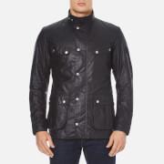 Barbour International Mens Duke Wax Jacket  Navy  M