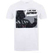 Star Wars Men's I Am Your Father T-Shirt - White