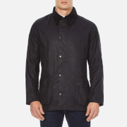 Barbour Men's Ashby Wax Jacket - Navy