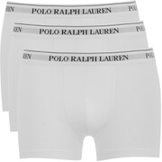 Polo Ralph Lauren Mens 3 Pack Pouch Boxer Shorts  White  S
