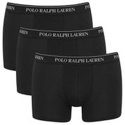 Polo Ralph Lauren Mens 3 Pack Trunk Boxer Shorts  Black  S