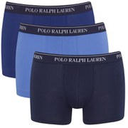 Polo Ralph Lauren Mens 3 Pack Trunk Boxer Shorts  Blue Denim  M