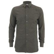 J.Lindeberg Men's Danielle Flannel Long Sleeve Shirt - Green