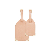 Aspinal of London Luggage Tags - Deer Brown