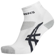 Asics Mens Nimbus Socks - White/Grey - 9-12 - Damaged Packaging