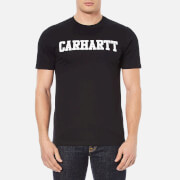 Carhartt Men's Short Sleeve College T-Shirt - Black/White