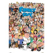 Family Guy Characters  24 x 36 Inches Maxi Poster