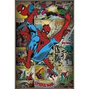 Marvel Comics Spider-Man Retro - 24 x 36 Inches Maxi Poster