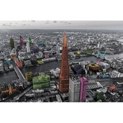 London Colour Splash - 24 x 36 Inches Maxi Poster