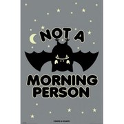David & Goliath Not A Morning Person - 24 x 36 Inches Maxi Poster