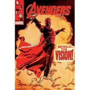 Marvel Avengers Age Of Ultron Behold The Vision - 24 x 36 Inches Maxi Poster