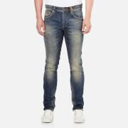 Superdry Men's Corporal Slim Denim Denim Jeans - Tribeca Blue