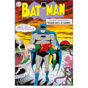 DC Comics Batman Comic Robin Dies at Dawn - 24 x 36 Inches Maxi Poster