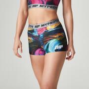 Myprotein Vrouwen Geprinte Shorts - Psychedelische Werveling