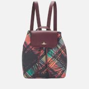 Vivienne Westwood Women's Scribble Tartan Backpack - Henry