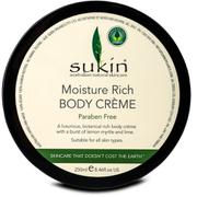 Sukin Moisture Rich Body Crème Paraben Free 250ML