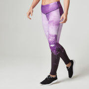 Myprotein FT Atletisk Tights for Kvinner – Lilla