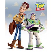 Disney Toy Story Woody & Buzz - 16 x 20 Inches Mini Poster