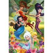Disney Princess Flowers - 24 x 36 Inches Maxi Poster
