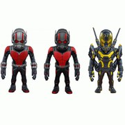 Lot de 3 Figurines Ant-Man à Têtes Branlantes Bobble Heads - Artist Mix Deluxe