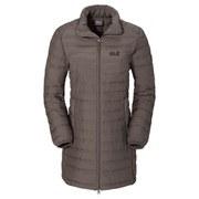 Jack Wolfskin Women's Carmenville Insulated Coat - Siltstone - L/UK 14-16