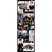 Image of 5 Seconds of Summer Grid 2 - 21 x 59 Inches Door Poster