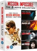 Mission Impossible - 1-5 Boxset