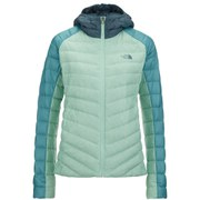 The North Face Women's Tonnero Down Filled Hoody - Surf Green