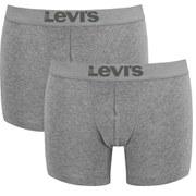 Levi's Men's 200SF 2-Pack Boxer Briefs - Middle Grey Melange