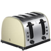 Image of Russell Hobbs 21301 Legacy 4 Slice Toaster in Red