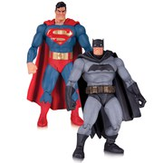 Figurines The Dark Knight Returns Superman & Batman - DC Collectibles