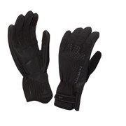 SealSkinz Women's Brecon XP Cycle Gloves - Black/Black