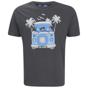 Salvage Men's Campervan T-Shirt - Charcoal Marl