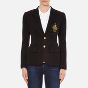 Polo Ralph Lauren Womens Custom Blazer  Polo Black  UK 8US 4