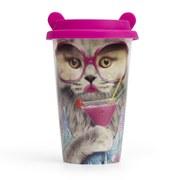 Image of Coffee Crew Ceramic Cup - Cat
