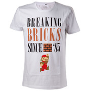 Mario Breaking Bricks T-Shirt (L)