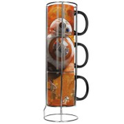 Star Wars: The Force Awakens BB-8 3 Stackable Mug Set