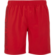 Animal Mens Belos Elasticated Waist Swim Shorts  Bright Red  M