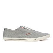 Jack & Jones Men's Spider Canvas Pumps - Light Grey Melange