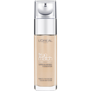 Купить L'Oréal Paris True Match Liquid Foundation with SPF and Hyaluronic Acid 30ml (Various Shades) - Beige
