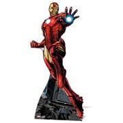 Figura cartón Iron Man Los Vengadores Marvel