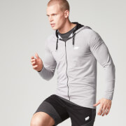Myprotein Men's Performance Zip Hoodie - Grey Marl