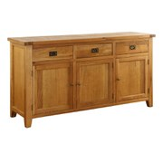 Vancouver Oak VXD017 Three Drawer Buffet Chest