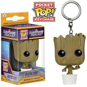 Marvel Guardians Of The Galaxy Baby Groot Pocket Pop! Vinyl Key Chain