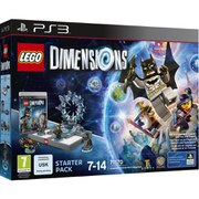 LEGO Dimensions: Starter Pack PS3 Batman™, Gandalf™, Wyldstyle™, Batmobile™ (71170)