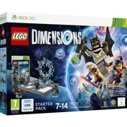 LEGO Dimensions: Starter Pack XBOX 360 Batman™, Gandalf™, Wyldstyle™, Batmobile™ (71173)