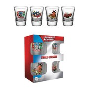 DC Comics Justice League Characters - Shot Glasses
