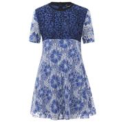 Sportmax Code Women's Kiku Mini Dress - Navy