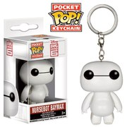 Big Hero 6 Baymax Pop! Vinyl Key Chain