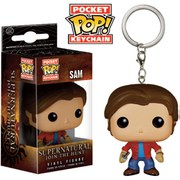 Supernatural Sam Pop! Vinyl Key Chain